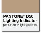 Индикатор за оценка на осветеността PANTONE® LIGHTING