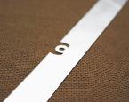 Сребърни метални лайсни 68 см