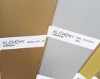 Скала на серия златни и сребърни мастила ALCHEMY