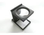Метална полиграфическа лупа (53х32х12мм)